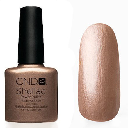CND Shellac - Sugared Spice