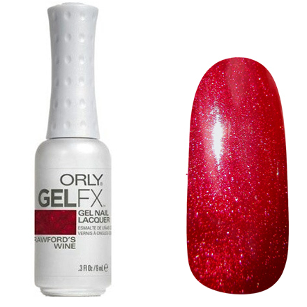 Orly Gel Fx - Crawfords Wine - 9ml