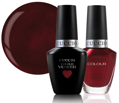 Cuccio Veneer Matchmakers Duo 2 x 13ml - Moscow Red Square
