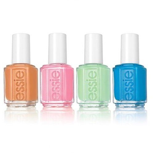 Essie Nail Polish - Resort 2016 Collection - All 4 Colors - 0.46oz / 13.5ml Each
