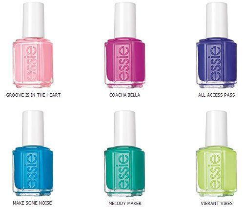 Essie Nail Polish - Summer Neons Collection 2015 - 6 x 13.5ml