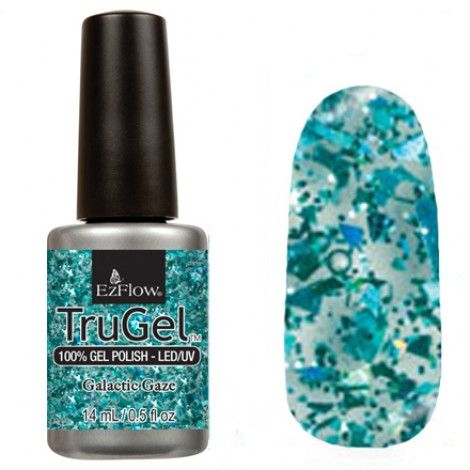 EzFlow Trugel Led/UV Gel Polish - Galactic Gaze - 0.5oz/14ml