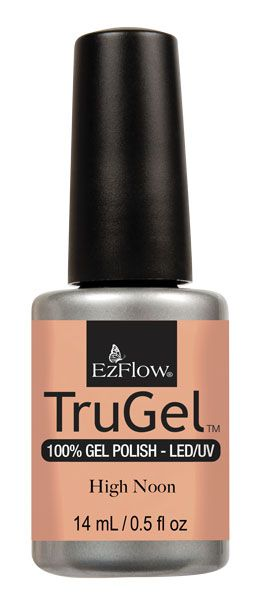 EzFlow Trugel Led/UV Gel Polish - High Noon - 0.5oz/14ml