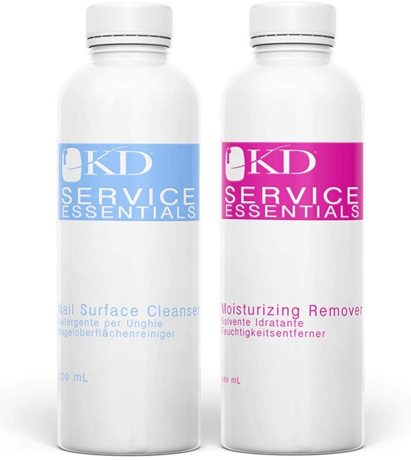 KD Professional Gel Nourishing Remover & Nail Cleanser 2 x 100ml