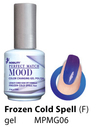 LeChat UV/LED Mood Gel 15ml - Frozen Cold Spell