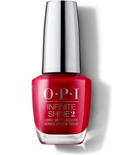 OPI Infinite Shine Color so hot it Berns