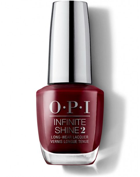 OPI Infinite Shine Got the blues for red
